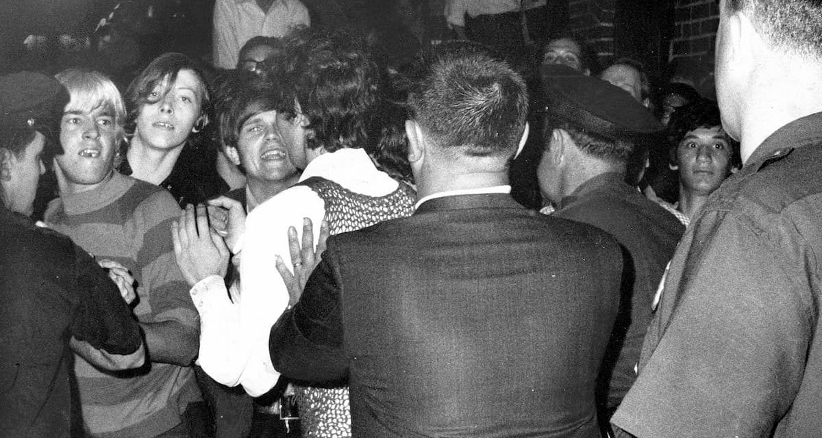 stonewall police invasions