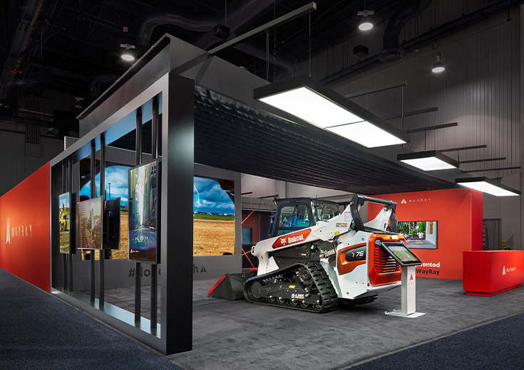 WayRay CES Trade Show Exhibit Featured Work