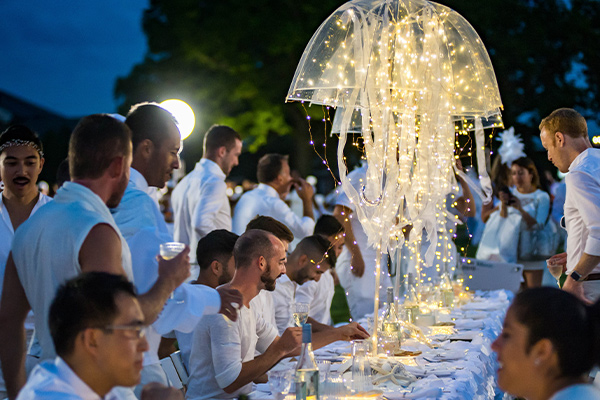 Diner en Blanc NYC Culinary PopUp Experience